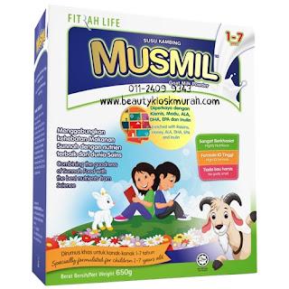 Susu Kambing Musmil 1-7 tahun