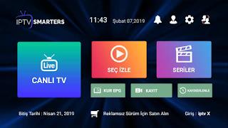 URL ve M3U Kanal Listesi indir Telefona Yükle (iptv smarters) ile Aç