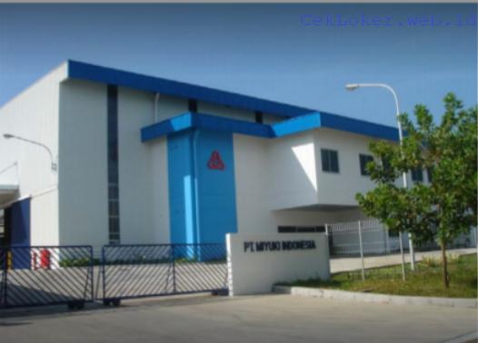 Lowongan Kerja Terbaru Kawasan KIIC Karawang - PT.Miyuki Indonesia