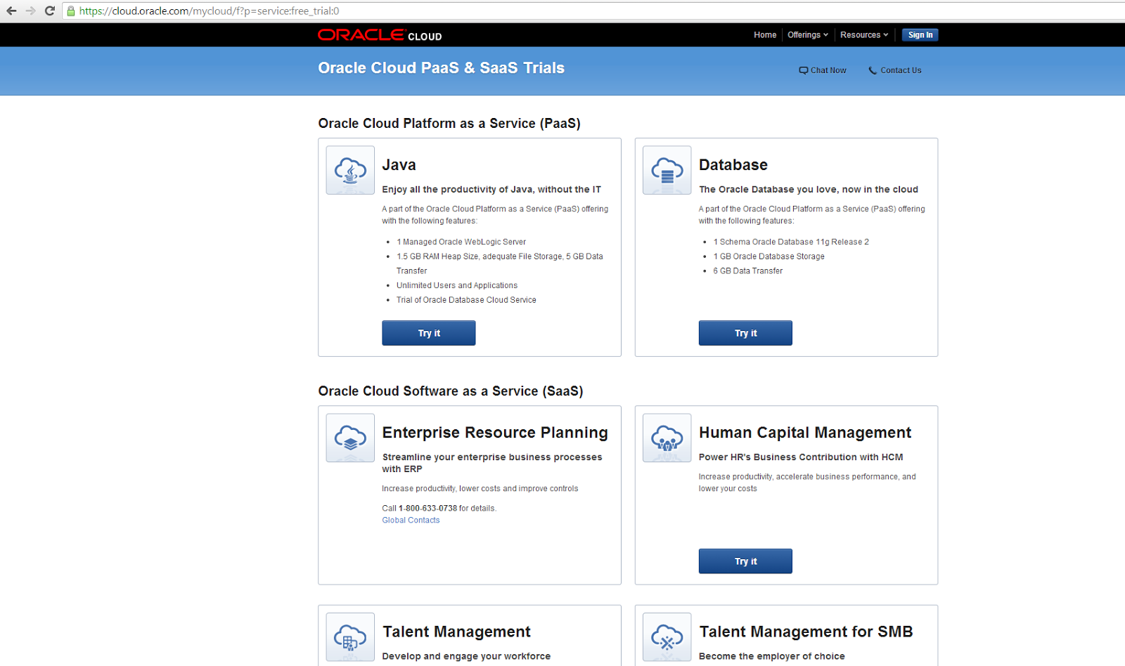 ... my experience with creating a trial account for the Oracle Java Cloud,  deploying a simple helloworld webservice and calling it from outside the  cloud.