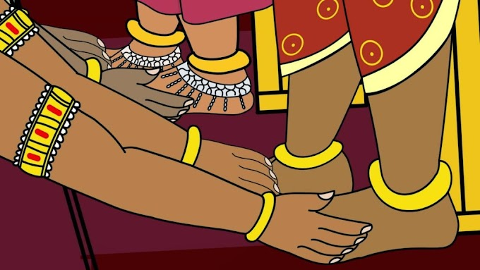 Feet in Hinduism and Hindu culture