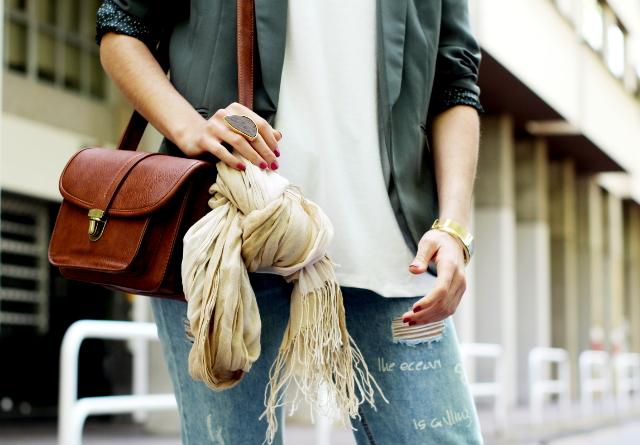 Chaqueta y zapatillas, una buena idea!