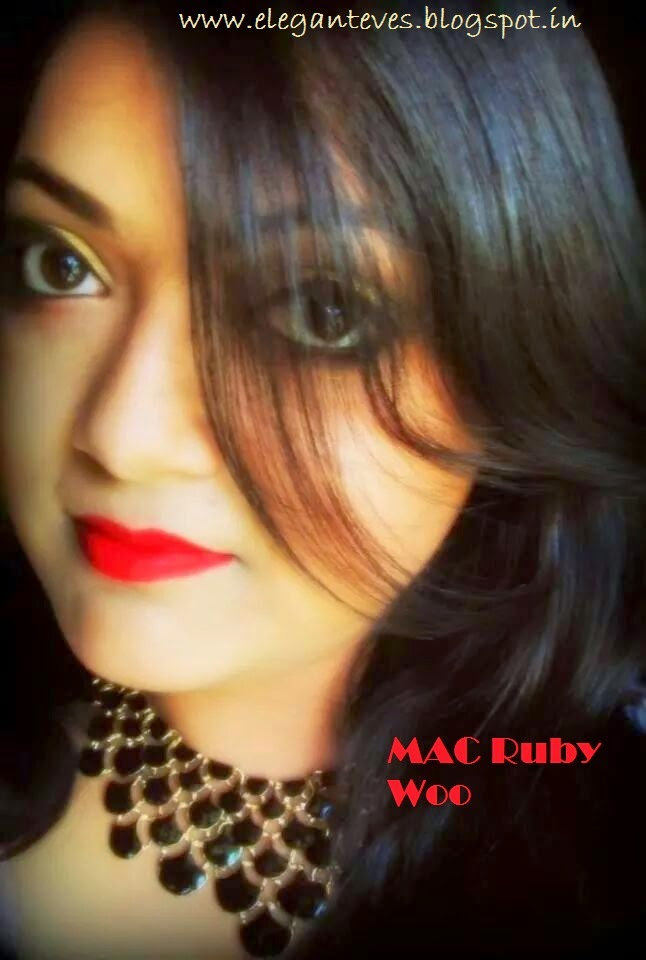 REVIEW AND COMPARISON OF MAC RUBY WOO AND LAKME 9 TO 5 LIPSTICK RED COAT