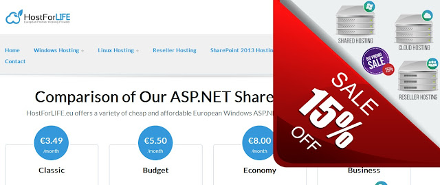 http://hostforlife.eu/ASPNET-Shared-European-Hosting-Plans