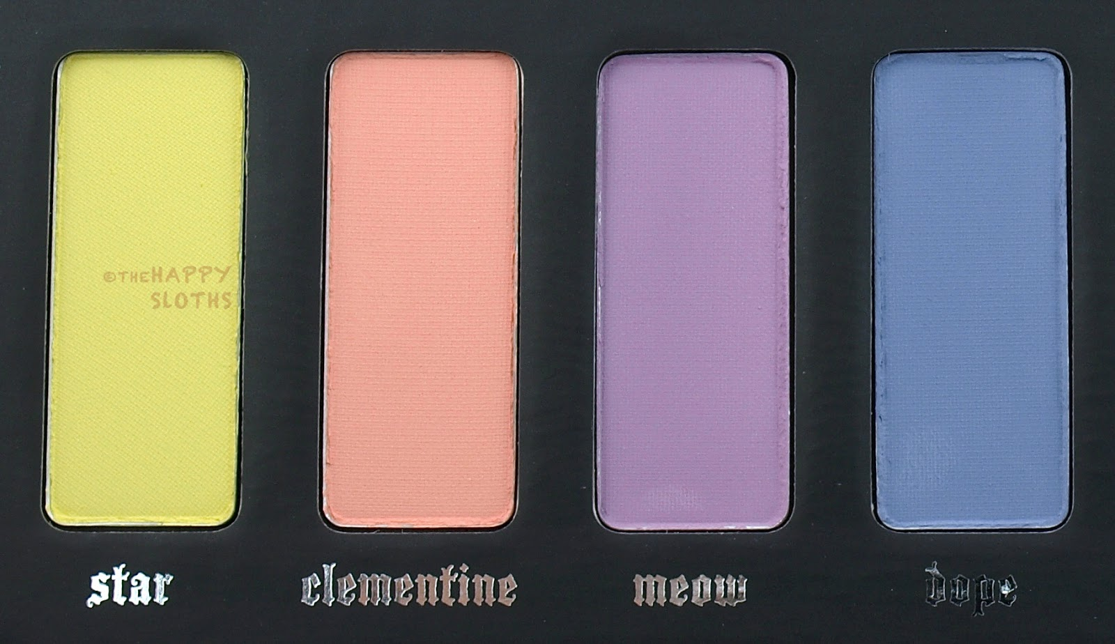 Kat Von D Pastel Goth Eyeshadow Palette: Review and Swatches