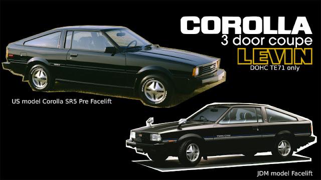 Jenis-Jenis Toyota Corolla levin