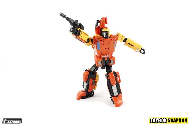 unique toys y03 sworder sandstorm blaster