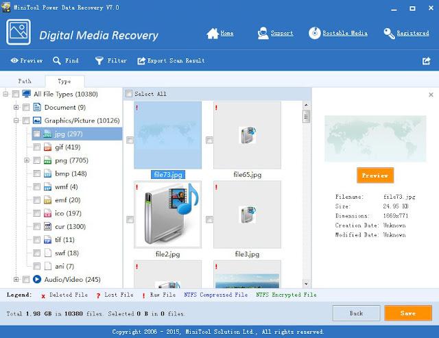 New MiniTool Power Data Recovery Free 7.0 TricksUniversity
