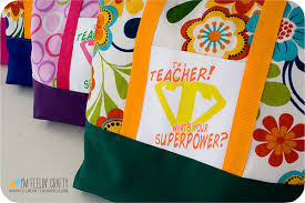 BIG bags for teachers
