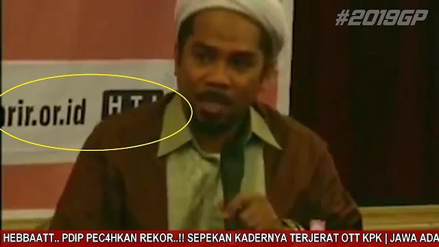 Beredar Video Ngabalin Dulu bersama HTI, Netizen: Sebelum Negara Api Menyerang