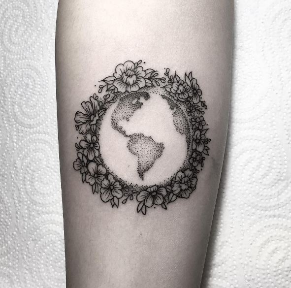 50 Impressive Planet Tattoos Designs And Ideas (2018