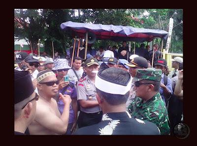 Pawai FMP PERAK Dihadang KAPOLRES & DANDIM Subang