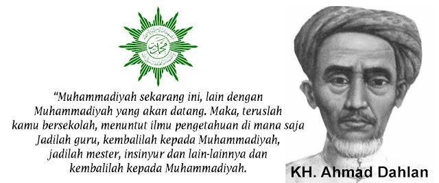 Gambar KH. Ahmad Dahlan Pendiri Muhammadiyah