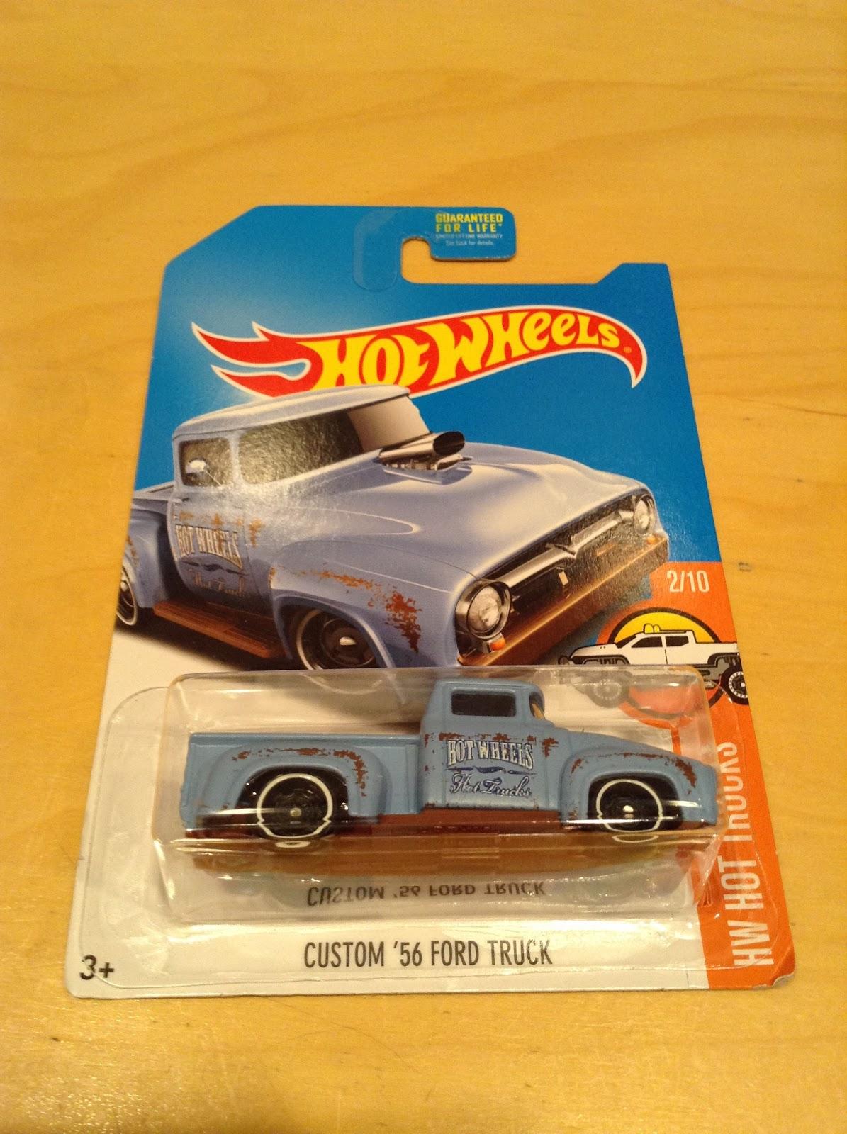 Julian S Hot Wheels Blog Custom 1956 Ford Truck February 2017