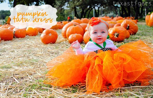 796882820c89 Texas Tigers: Pumpkin tutu dress