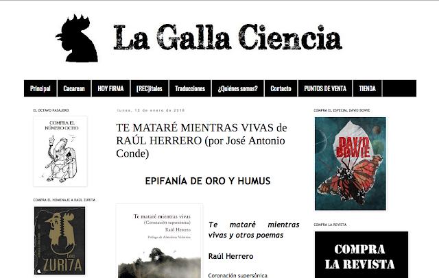 http://www.lagallaciencia.com/2018/01/te-matare-mientras-vivas-de-raul.html
