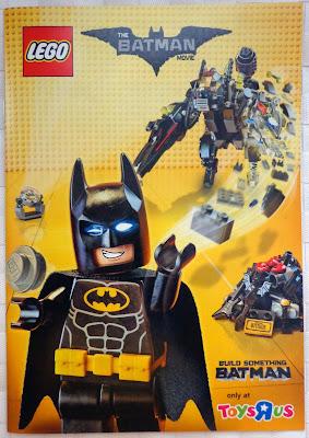 LEGO Batman Movie Minibuild Booklet