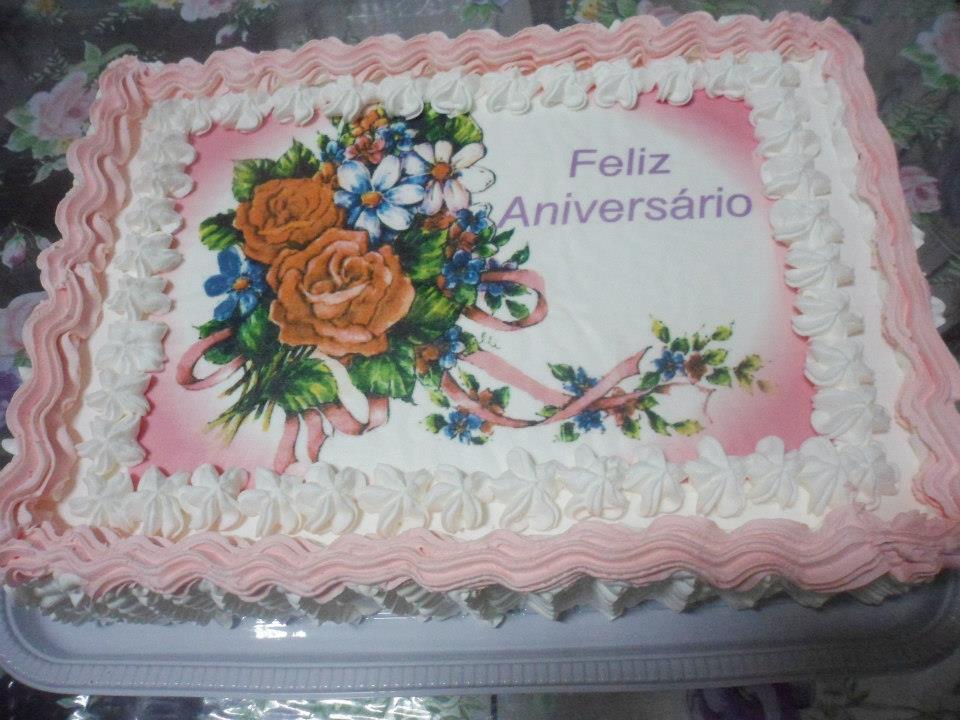 Bolo De Aniversário: Bolo De Feliz Aniversario
