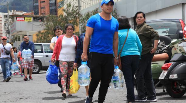 Los gremios empresariales y la ciudadanía se suman a la colecta de ayuda humanitaria por el sismo.