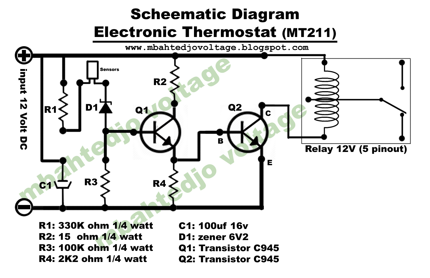 Mbahtedjo Voltage How To Make Electronic Thermostat