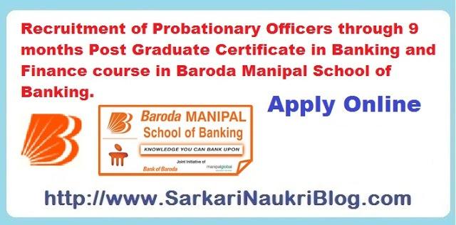 Naukri-Vacancy-Recruitment-Probationary-Officers-BoB-Manipal-PG-Certificate