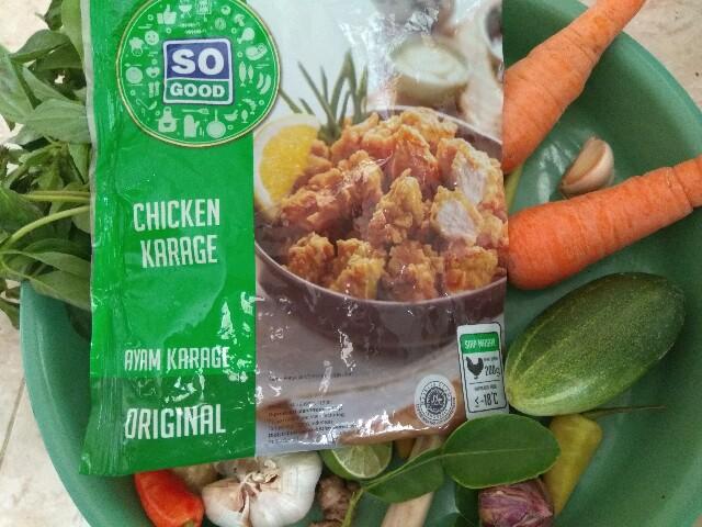 chicken karage so good