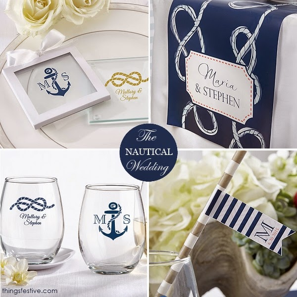 Nautical Wedding Favors and Decor