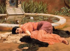 Sweet Nothings, por John William Godward