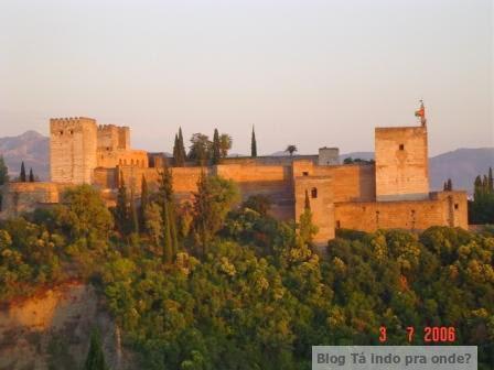 Patrimônios da Humanidade pela UNESCO - Alhambra, Granada, Espanha