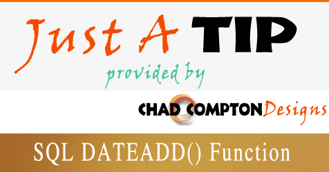 SQL DATEADD() Function