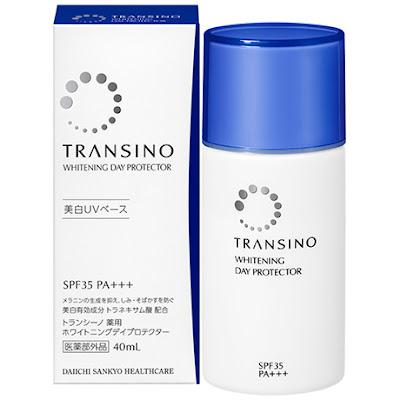 kem dưỡng da chống nắng transino Nhật Bản