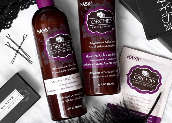 Hask Beauty Orchid & White Truffle Hair Care Range Review