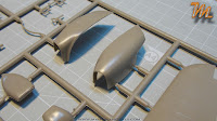Hawker Hurricane MkIIc, 1/32 Fly models 32012 -  inbox review - parts