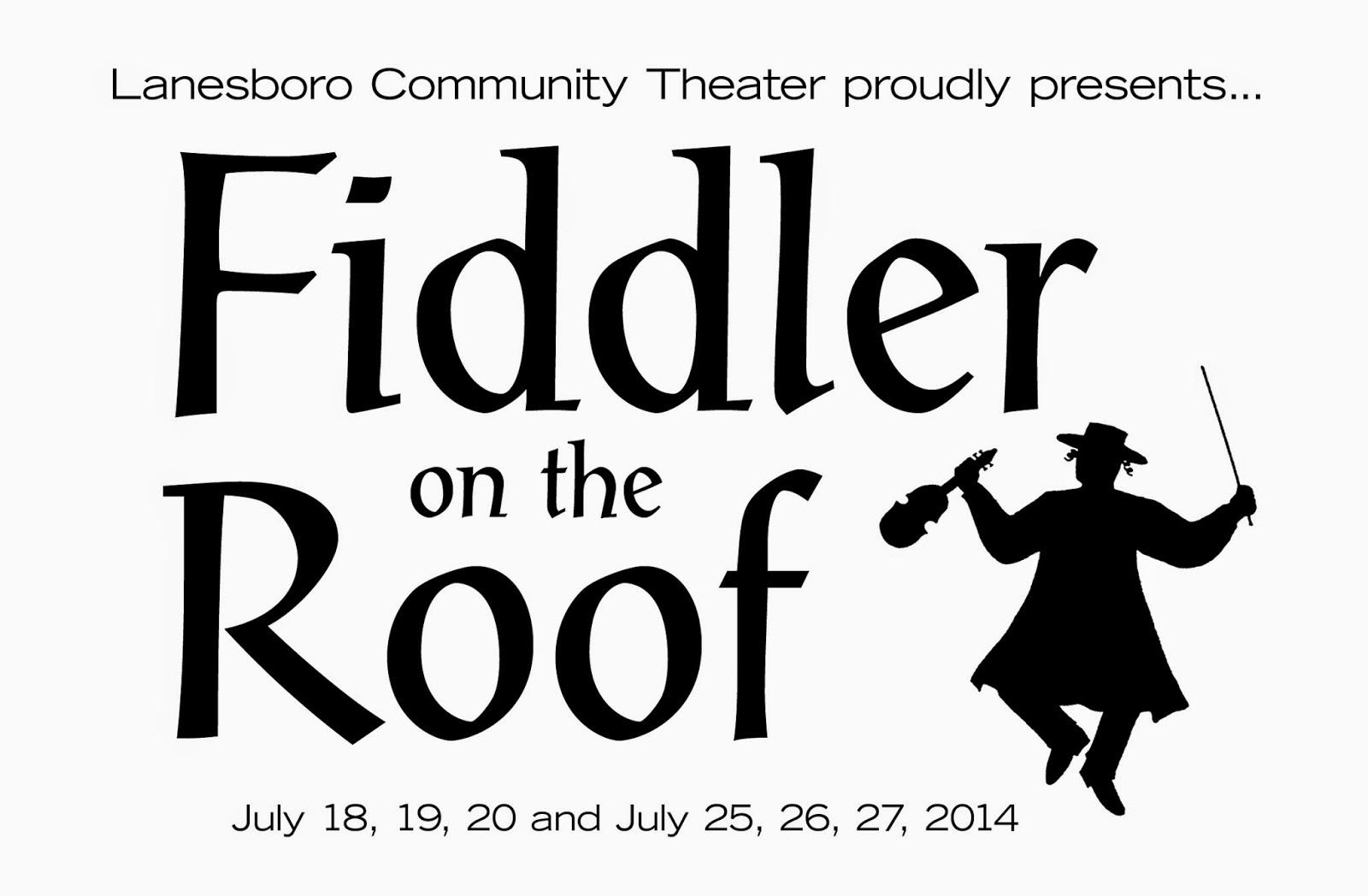 Lanesboro Community Theater: Mazel Tov!