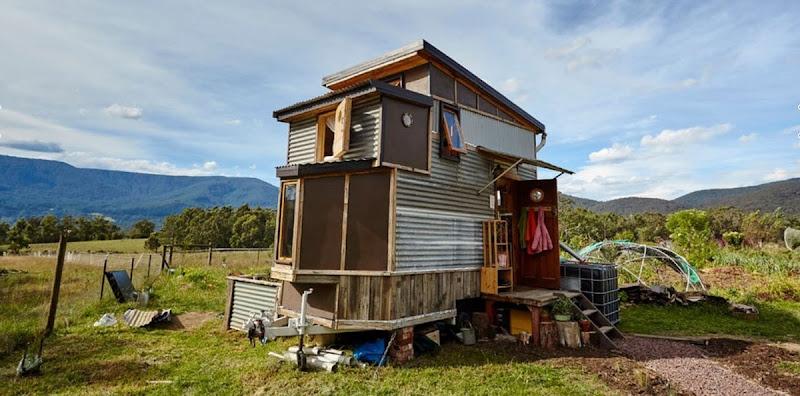 La casa de 10 m² de una familia australiana