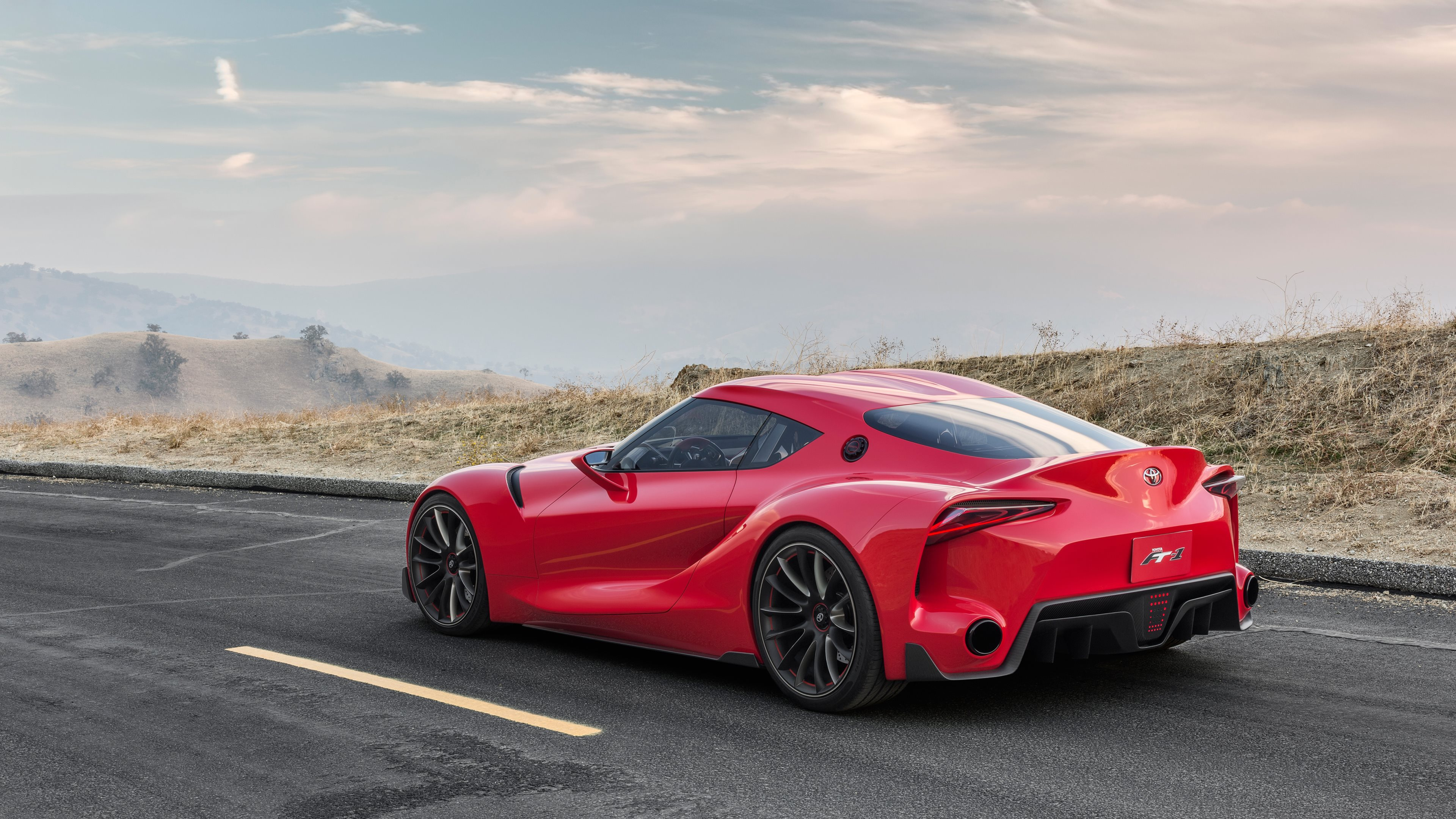 Toyota FT1 | HD Wallpapers · 4K