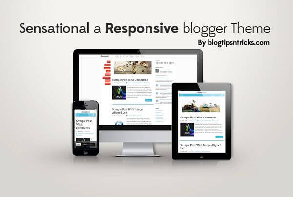 Sensational-Responsive-blogger-template