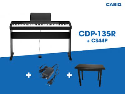 Đàn piano điện Casio CDP 135 Đời 2017