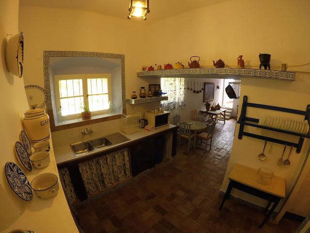 Cocina casa andaluz