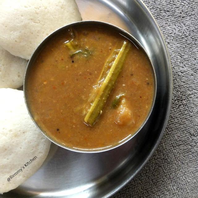 Varutharacha sambar Palakkadu style