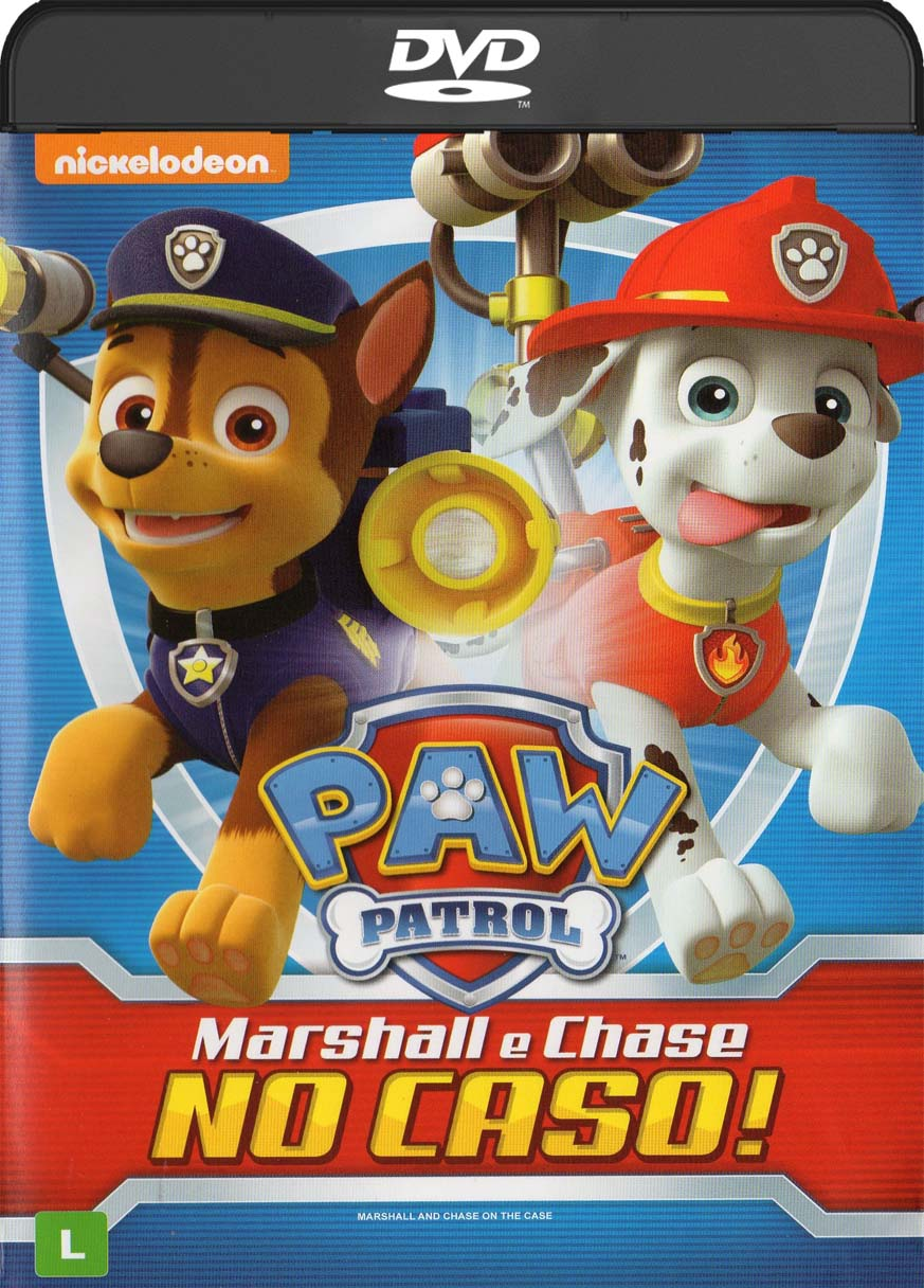 Paw Patrol – Marshall e Chase no Caso! (2016) DVD-R Oficial