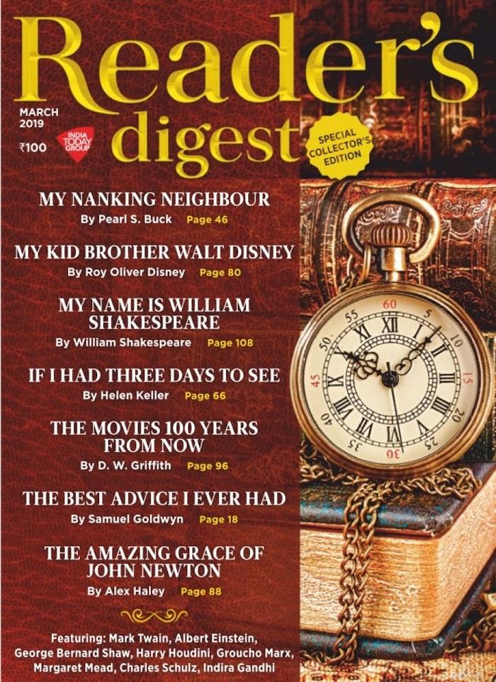 Reader's Digest March 2019 PDF Download
