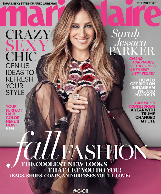Actress, @ Sarah Jessica Parker - Marie Claire US September 2016