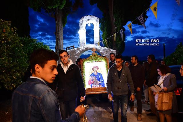 Η εορτή του Αγίου Νικόλαου του εν Βουνένοις στο Ανυφί Αργολιδας (βίντεο)
