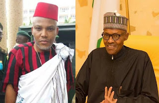 Buhari not a Nigerian, he is from Sudan – Nnamdi Kanu (VIDEO)