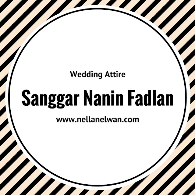 wedding attire sanggar nanin fadlan