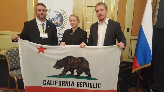 No Kremlin, o 'Yes California' reafirmou a meta de separar o Estado dos EUA