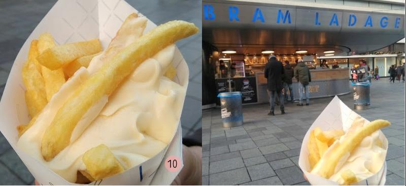 Bram Ladage Rotterdam gratis zak patat op verjaardag