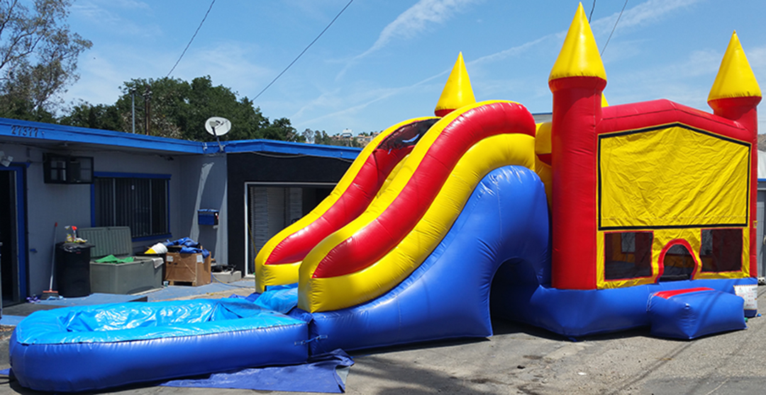 bounce house rental service startup business plan