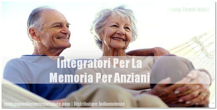 Integratori Per La Memoria Per Anziani